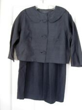 Vintage Navy Silk? Suit Small