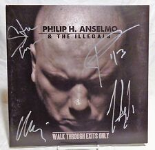 """Phil Anselmo """"Down"""" group Signed Autographed Album A"""