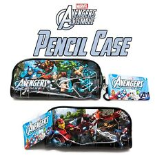 Disney Marvel Avengers Assemble Pencil Pouch Ironman Hulk Thor Captain American