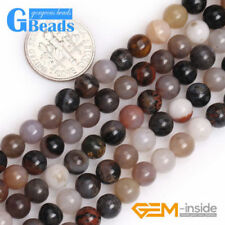 400 Beads Smokey Grey Clear AB 4x6mm Rondel Faceted Glass Beads on 5 strands