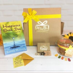 Halal Happy Box SIMPLY - Islamic Gift for Muslims (Luxury Hamper Box Gift Eid)