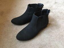 """NEXT"" - BLACK ANKLE BOOTS - SIZE 5"