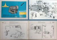 Deutz F4L811D + F4L812D Ersatzteilliste Spare Parts List 1967