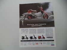 advertising Pubblicità 1992 YAMAHA CR 50 Z/BELUGA 125/CT 50 S