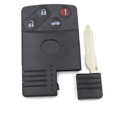 Smart Card Remote Key Shell Case Fit for MAZDA 5 6 CX-7 CX-9 RX8 Miata 3+1 BTN