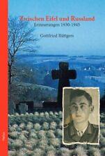 Zwischen Eifel und Russland - Erinnerungen 1930 - 1945 Buch
