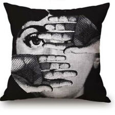 3 Pack/LOT Fornasetti Decor Artistic Pillow Covers