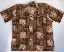 "New listing Vintage ""Large� Hawaiian Shirt by Marshall Field's; 1950's"