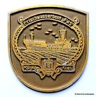 MstpKdo Kiel Frishwasserboot FW5- German Navy Ship Tampion Plaque Badge Crest