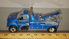 1/34 FIRST FORD TOWING FORD F-650 with JERR-DAN TOW BODY BLUE 19-2918 No brn box