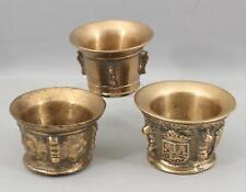 Antique Ancient 16thC Italian Renaissance Bronze Pharmaceutical Medicine Mortars