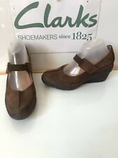 Clarks Unstructured Leather Shoes Size UK 6.5 EU 40
