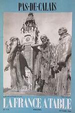 Gastronomia Turismo Folklore Rivista la Francia Tavolo 1964 N 110 Non di Calais