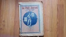 LE PETIT JOURNAL ILLUSTRE COLLECTION ANNEE COMPLETE 1915