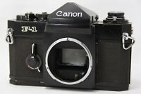 Canon F-1 Eye Level Finder Film Camera **Problem** #W013d