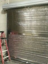 8 foot x 8 foot (8' x 8') Insulated Roll-up Door