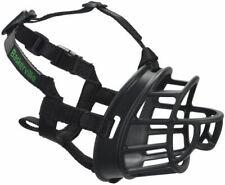 New The Company of Animals Baskerville Ultra Basket Dog Muzzle (Black)