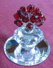 Swarovski Red Rose Bouquet Figurine 2002