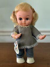 Vintage 60-70's Herman Pecker & Co Blonde Girl Doll #1287 Hong Kong