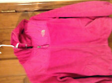 The Nort Face Girls Osito  Pink Jacket with hood L 14-16