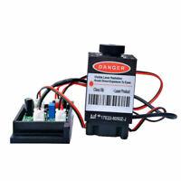 Focusable 500mw 808nm Infrared IR Laser Diode Dot Module 12V+Adujstable TTL+ Fan