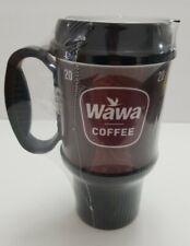 Wawa 20oz Coffee Mug cup travel  Reusable  Whirley black & brown Factory sealed