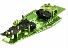 Integy Performance Billet Aluminum Chassis Kit Traxxas Rustler Bandit VXL Green