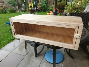 Rabbit Hutch Guinea Pig Run Chinchilla Hedgehog Ferret Cage Home Assembled