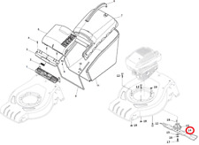 Mountfield S421 HP Petrol Lawnmower Cutting Blade 181004341/3 2012-2014 Models