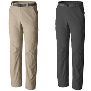 "New Mens Columbia ""Silver Ridge"" Cargo Omni-Wick Omni-Shade Pants"