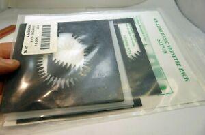"Lindahl Vignette set of 7 White & Black Masks 4.5"" for Bellow O Shades High key"