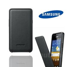 Official Samsung Galaxy S2 Flip Cover Genuine Black Folio Tough Luxury Case