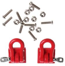 1 Pair 1:10 Scale Hook Shackles Red for RC Crawler SCX-10 Truck Accessory H 76 B