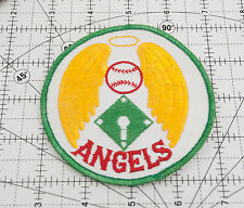 "California Angels Vintage Green Gold Patch Fabric 4"" (A4L)"
