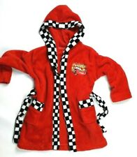 Red dressing gown robe Age 2 - 4 Disney store Racing Cars Mcqueen ~c177