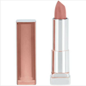 Maybelline Color Sensational Matte Nudes Lipstick Peach Buff 540, 0.15 oz. (Two)
