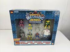Marvel Heavy Metal Heroes 8 Die Cast Metal Action Figures Toy Biz NEW