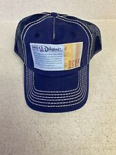 New ListingDisneyland E Ticket Booklet Hat Cap Primary Colors Snapback
