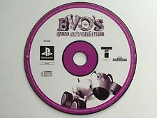 Evos space adventure-Sony Playstation PS1 disque seulement uk pal