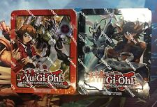YuGiOh Jaden And Yusei Mega Tin 2018 SET SPANISH (Both Tins) Factory Sealed