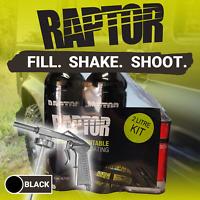 U-POL RAPTOR Tough Protective Coating Bed Liner Coating Black 2L Kit w/ Gun