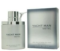 YACHT MAN METAL - Colonia / Perfume EDT 100 mL -  Homme / Uomo / Hombre