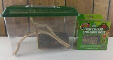 Breeder Box Reptile Snake Lizard Gecko Frog Cage Enclosure Small W/ Accessories