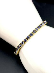 Details about  /Joan Rivers Classic Collections Purple Crystal Tennis Bracelet B-13