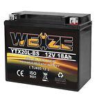 Weize YTX20L-BS High Performance Power Sports Sealed ETX20L BS UTV Battery