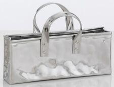 svuotatasche in acciaio inox a forma di borsetta o originale portaposta