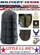 BROKEN BUCKLE Military Issue Compression Stuff Sack 9 Strap Sleeping Bags MSS