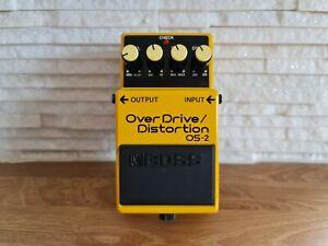 Boss OS-2 Overdrive/ Distortion Guitar Effect Pedal