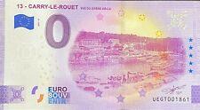 BILLET 0 EURO CARRY LE ROUET  FRANCE 2021  NUMERO DIVERS