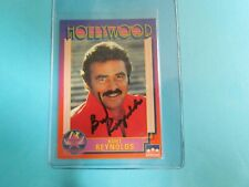 Bert Reynolds Autographed Hollywood #19 Card